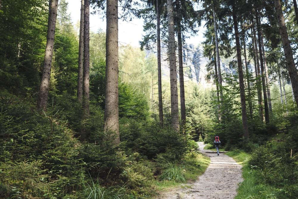Boofen im Grand Canyon Deutschlands [1. Hikingtour: Sächsiche Schweiz (DE)]