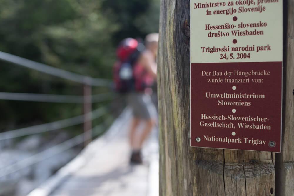 Hängebrücke - Hessisch Slowenische Gesellschaft Wiesbaden