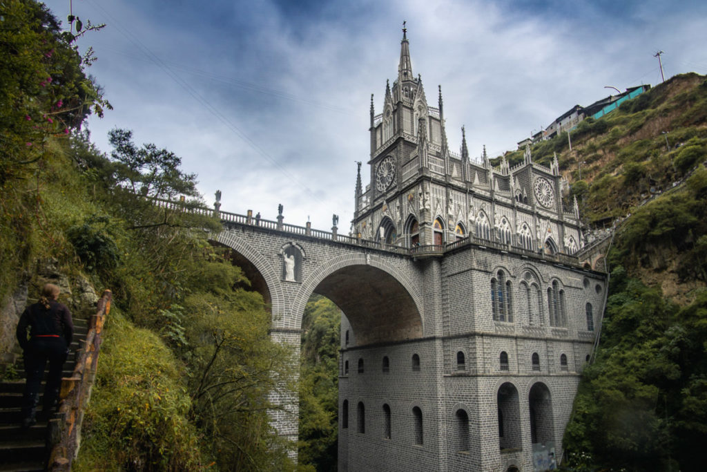 The church Las Lajas in Colombia